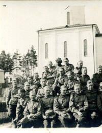 Gustaf i russisk præget militær i Finland 1901