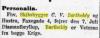 Diamantbryllup i Nationaltidende 3. juli 1914