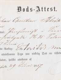Johan Blochs ligsyn 1867